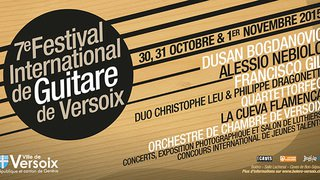 7e Festival International de Guitare | Du 30.10.2015 au 01.11.2015